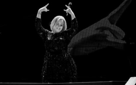 Singer Adele. Picture: @adele/Instagram.