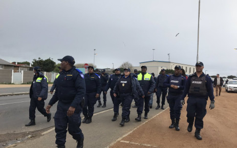 The City of Cape Town's new Neighbourhood Safety Team, which consists of 100 law enforcement officers, conducted patrols in Bonteheuwel on 2 July 2019. Picture: Kaylynn Palm/EWN