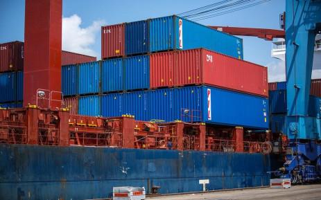 Shipping cargo freight