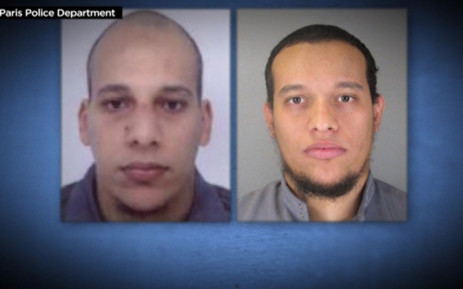 The suspects in the Charlie Hebdo shooting, Picture: Supplied/EWN.