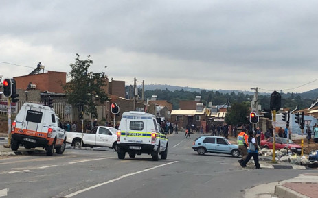 FILE: JMPD officers monitor protests in the township of Alexandra in Johannesburg on 3 April 2019. Picture: EWN