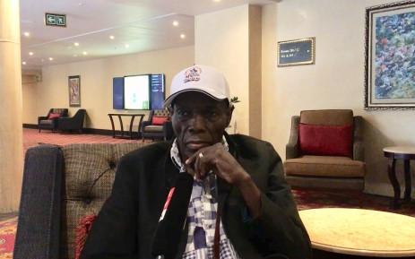 Zimbabwean musician Oliver Mtukudzi. Picture: Katleho Sekhotho/EWN.