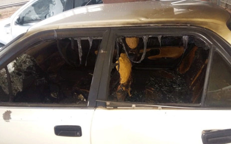 Naledi residents in Soweto have vandalised and torched vehicles over late trains. Picture: Supplied