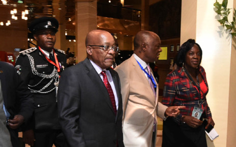 President Jacob Zuma arrives in Nigeria ahead of Muhammadu Buhari's inauguration in Abuja. Picture: GCIS.