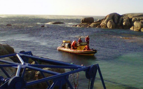 NSRI officials in action. Picture: NSRI
