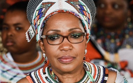 FILE: In this file photo taken on 22 September 2013, Zulu Queen Mantfombi Dlamini Zulu attends the festival of 'Zulu 200' celebrating the existence of the Zulu Nation at the King Shaka International Airport in Durban. Picture: AFP