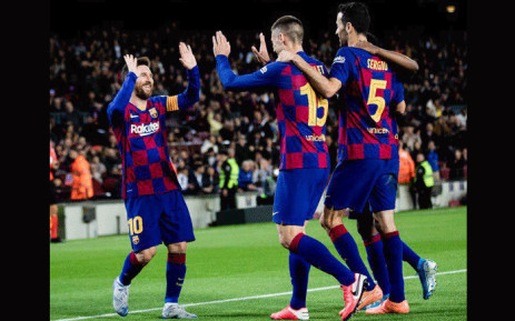 Barcelona beat Leganes 5-0 on 30 January 2020 to reach the Copa del Rey quarter-finals. Picture: @FCBarcelona/Twitter.