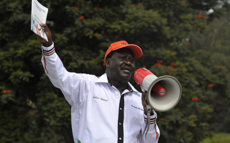 FILE: Kenya's opposition party Coalition for Reforms and Democracy leader Raila Odinga on 6 June 2016 in Nairobi. Picture: AFP.