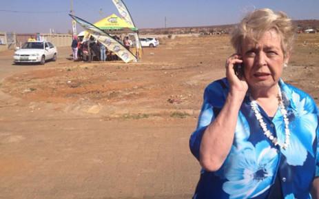 Tlokwe Mayor Annette Combrink. Picture: Govan Whittles/EWN