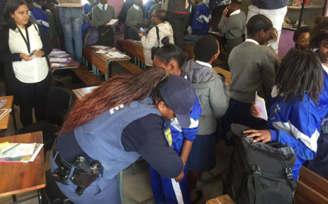 Western Cape Education's first 'Search and Seizure' operation has been described as a flop but the police have blamed the department. Picture: Siyabonga Sesant/EWN.