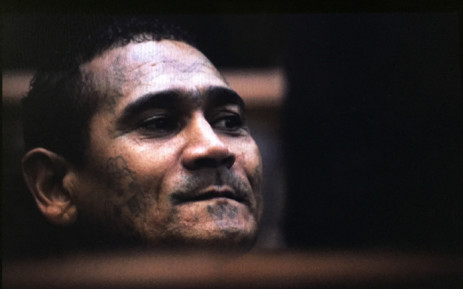 Alleged leader of the 28s gang, George 'Geweld' Thomas and his associates made a brief court appearance in the Western Cape High Court on 3 June 2015. Picture: Thomas Holder/EWN.