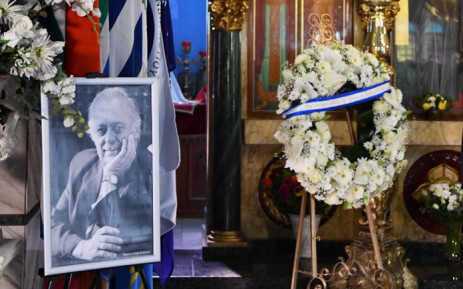 Preparations under way for the funeral of human rights activist George Bizos at the Greek Orthodox Church in Johannesburg on 17 September 2020. Picture: GCIS