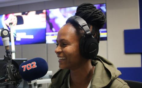 Former Banyana Banyana captain Amanda Dlamini. Picture: Refilwe Pitjeng/EWN.