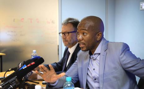 FILE: DA leader Mmusi Maimane at a press briefing. Picture: Bertram Malgas/EWN