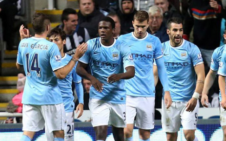 Manchester City players. Picture: Manchester City official Facebook page.