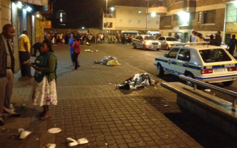 Hillbrow Police Station. Picture: Andrea van Wyk/EWN