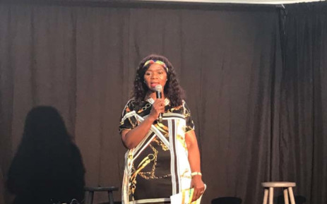 Advocate Thuli Madonsela addressing attendees at Constitution Hill on World Social Justice Day. Picture: Thando Kubheka/EWN