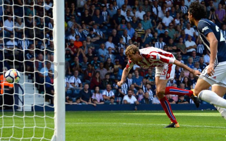 FILE: Peter Crouch scores their first goal Action Images via Reuters/Andrew Boyers. Picture: @stokecity/Twitter.