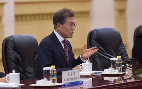 South Korean President Moon Jae-in. Picture: AFP