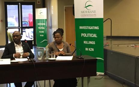 Abahlali Basemjondolo leader Sibusiso Zikode at the Moerane Commission of Inquiry into political killings in KwaZulu-Natal. Picture: Ziyanda Ncgobo/EWN