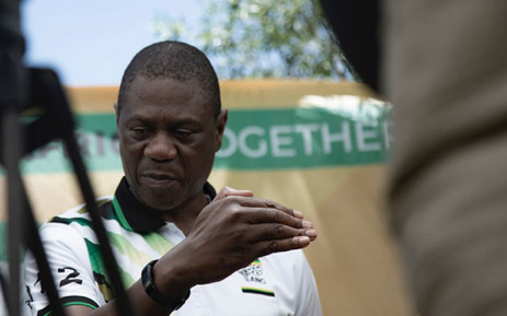 ANC treasurer-general Paul Mashatile at a party event in Kimberley in the Northern Cape on 9 January 2020. Picture: Sethembiso Zulu/EWN