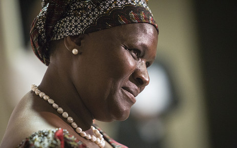 FILE. Suspended National Police Commissioner Riah Phiyega held a briefing in Sandton while investigations into her involvement in the fatal Marikana shootings which led to the death of over 30 miners. Picture: Reinart Toerien/EWN.