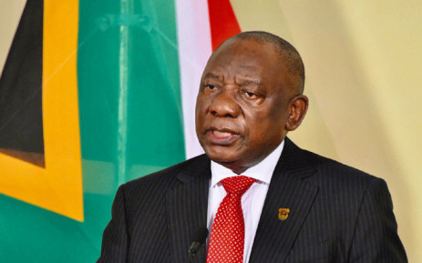President Cyril Ramaphosa addresses the nation on 30 March 2021. Picture: GCIS.