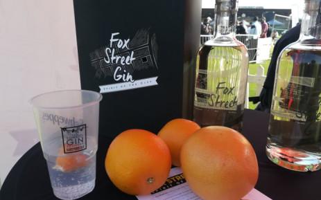 A view of Fox Street Gin. Picture: Winnie Theletsane/EWN.