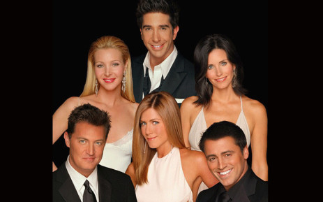 FILE: The cast of US TV show 'Friends'. Picture: NBC