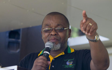 FILE. ANC Secretary General Gwede Mantashe. Picture: Vumani Mkhize/EWN.