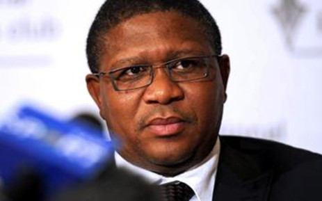 Minister of Sports and Recreation Fikile Mbalula. Picture: Taurai Maduna/Eyewitness News.