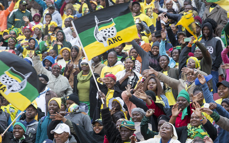 FILE: Thousands of ANC supporters filled the Emirates Airline Park in Johannesburg on 31 July for the party's final rally ahead of the upcoming local government elections. Picture: Reinart Toerien