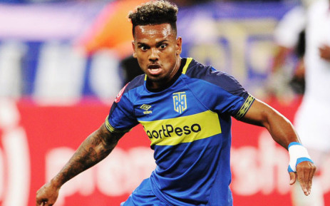 FILE: Cape Town City FC forward Kermit Erasmus. Picture: @CapeTownCityFC/Twitter