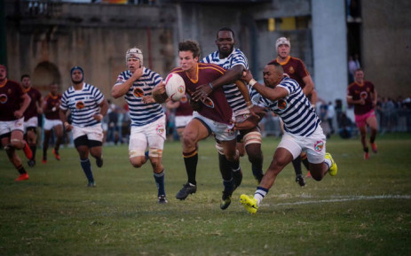 Maties take on UCT in their Varsity Cup match at UCT on 11 February 2019. Picture: @varsitycup/Twitter