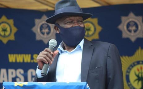FILE: Police Minister Bheki Cele. Picture: @SAPoliceService/Twitter