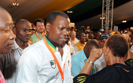 ANC Treasurer General Zweli Mkhize at the party's conference in Mangaung. Picture: ANC.