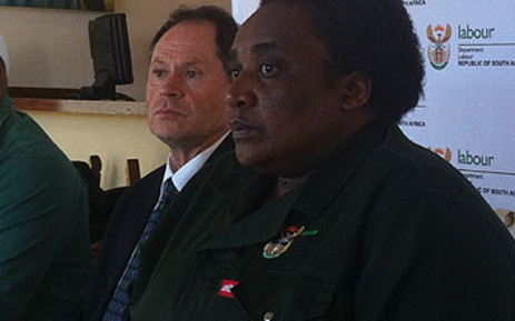 Labour Minister Mildred Oliphant labelled an opposition MP a foreign national in Parliament. Picture: EWN.