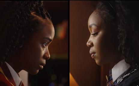 "Starring Ama Qamata as Puleng and Khosi Ngema as Fikile ""Fiks"" Bhele, season 2 of Blood & Water brings back the original cast. Picture: YouTube screengrab/AfricaOnNetflix."