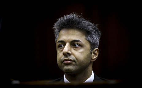 FILE: Shrien Dewani in the dock at Western Cape High Court at the start of his trial 6 October 2014. Picture: Thomas Holder/EWN.