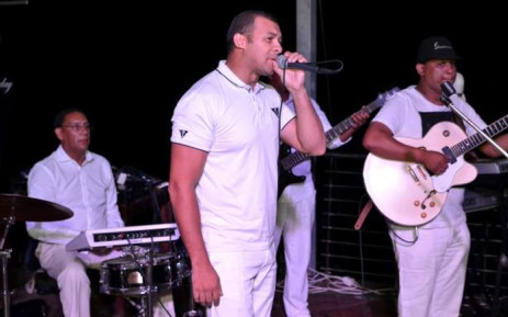 Well-known Cape Town musician Winston Moses performing live on stage. Picture: Supplied.