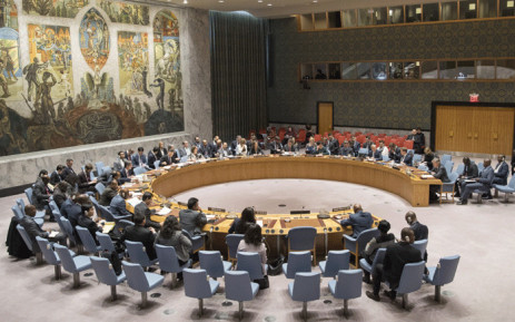 FILE: A general view of the UN Security Council as it meets on 9 January 2018.. Picture: United Nations.