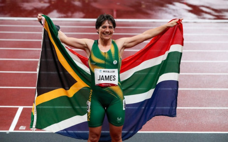 Sheryl James bagged the Bronze medal at the 2020 Paralympics on 31 August 2021. Picture: @TeamSA2020/Twitter.