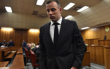 Oscar Pistorius at the Pretoria High Court on 13 June 2016. Picture: Pool.