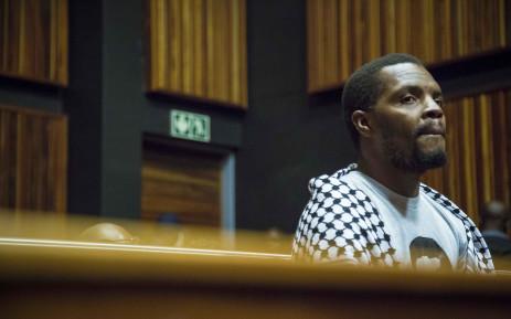 FILE: Mcebo Dlamini awaits the verdict of his bail appeal at the Palm Ridge Magistrates Court in Thokoza. Picture: Thomas Holder/EWN