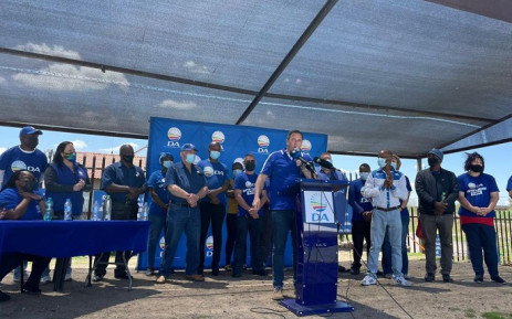 Steenhuisen has also told supporters that the smaller parties contesting the elections this year were also not the answer. Picture: John Steenhuisen/Twitter