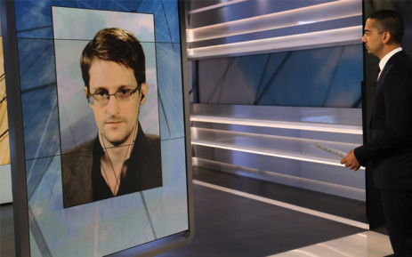 Former National Security Agency (NSA) contractor-turned-whistleblower Edward Snowden on Al Jazeera English's 'ShowUpFront'. Picture: Al Jazeera English.