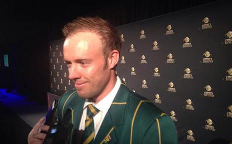 FILE: AB de Villiers. Picture: Marc Lewis/EWN.