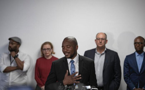 Mmusi Maimane seen on 23 October 2019 after resigning as the leader of the Democratic Alliance. Picture: Sethembiso Zulu/EWN