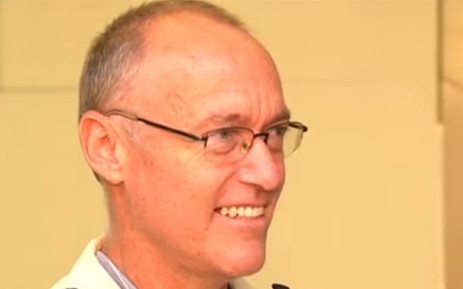 FILE: A screengrab picture showing Daniel Janse van Rensburg, upon his arrival back in South Africa after he had been detained in Equatorial Guinea.