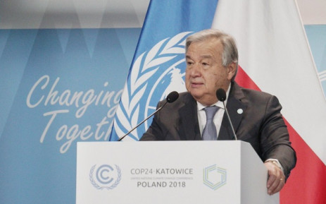 FILE: UN chief Antonio Guterres. Picture: @Antonioguterres/Twitter
